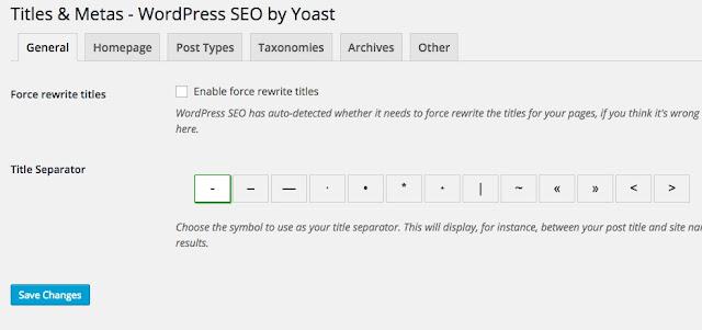 Hướng dẫn seo wordpress với seo by yoast