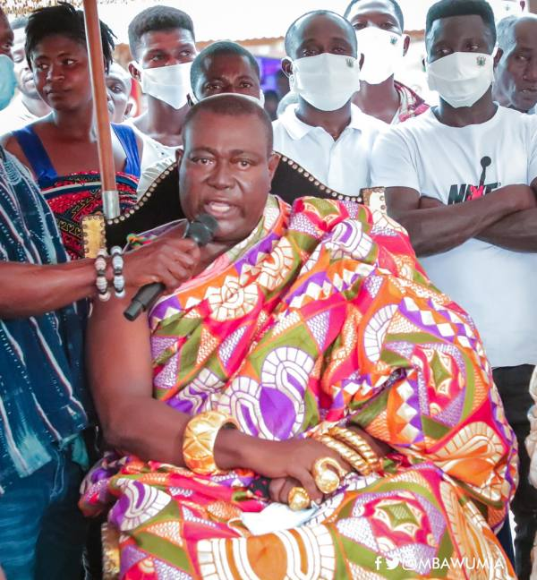 Free SHS Will Help Change The Socio Economic Structure Of Our District - Tain Chiefs
