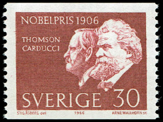 Sweden Nobel Prize Winners of 1906, Thomson & Carducci