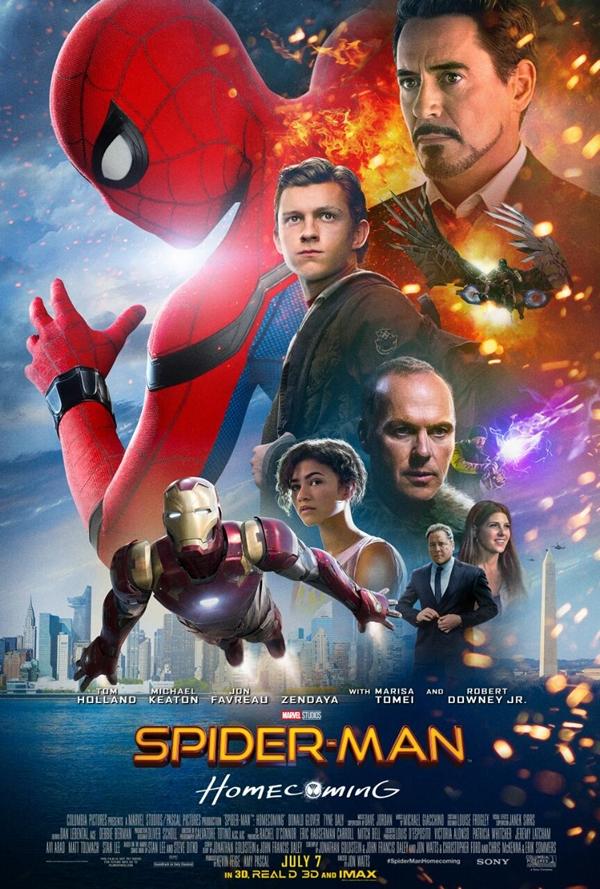 Spider-Man Homecoming enseña nuevo espectacular tráiler y cartel