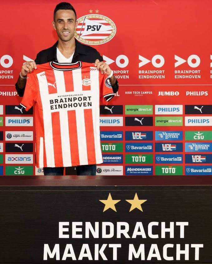 PSV sign Eran Zahavi from CSL side Guangzhou R&F