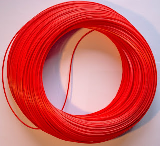red rotacane plastic basket cane