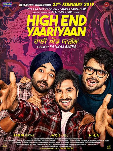 Poster of High End Yaariyaan (2019) Full Movie [Punjabi-DD5.1] 720p HDRip ESubs Download