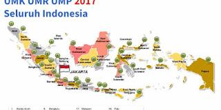 Daftar Gaji UMK UMR UMP 2017 Seluruh Indonesia