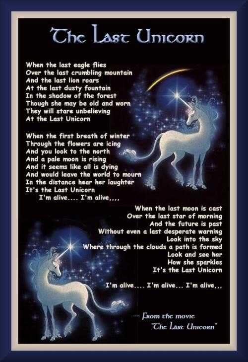 The Last Unicorn Song