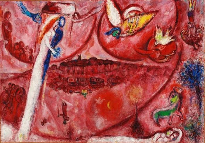 1960 г. Марк Шагал