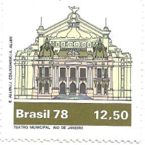 Selo Teatro Municipal do Rio de Janeiro