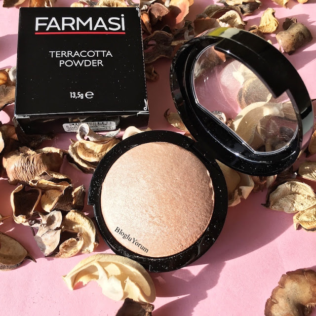 farmasi terracotta powder aydınlatıcı pudra highlighter