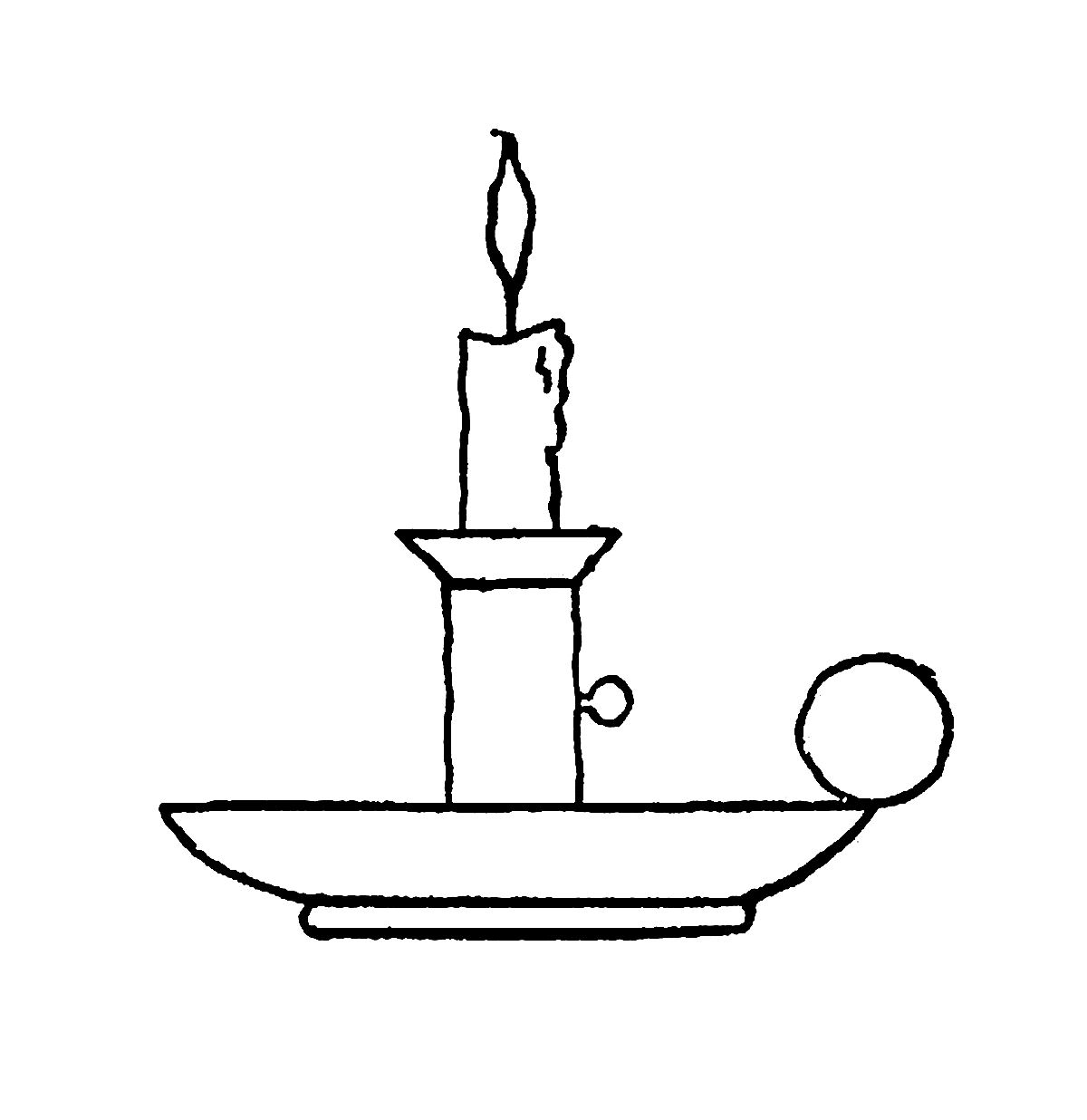 Clipart Candle