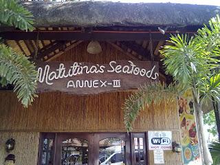 matutina's seafood restaurant