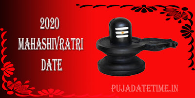 2020 Maha Shivaratri Date Time for India, 2020 Shivaratri Puja Schedule