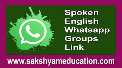 Spoken English Whatsapp Groups Link