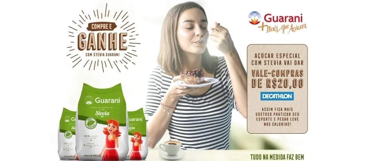 Promoção Açúcar Guarani 2020 Compre Ganhe