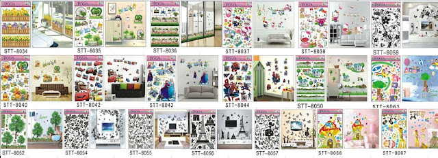 Wall Sticker 3D / Stiker Dinding 3D