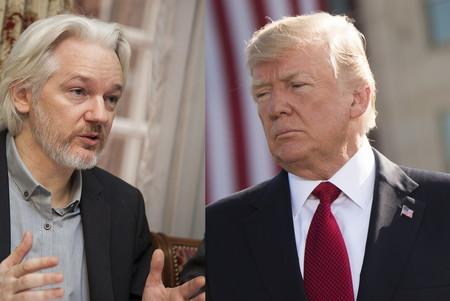 Trump ofreció el indulto a Assange si revelaba fuente de filtración de correos demócratas