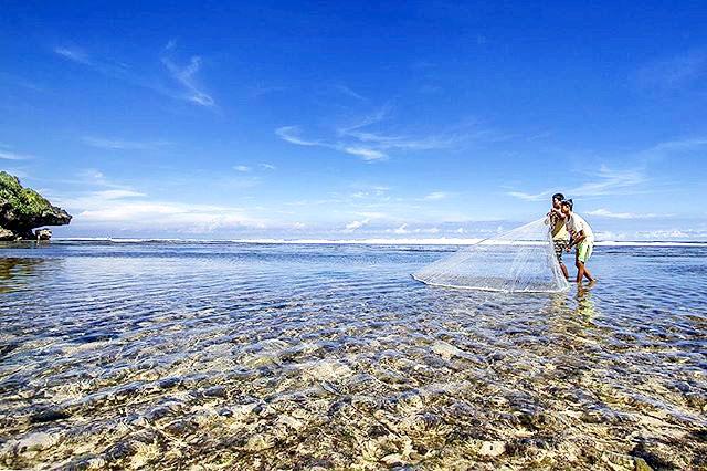 Tempat Wisata Pantai Sundak Di Gunung Kidul