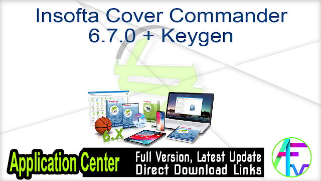 Insofta Cover Commander 6.7.0 + Keygen