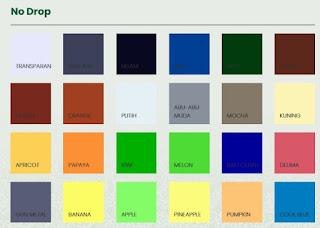 katalog warna no drop