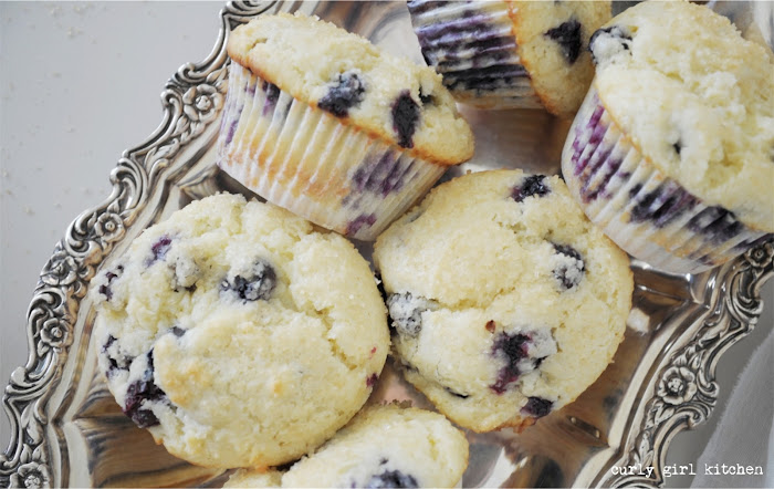 Blueberry Sour Cream Muffins with Crunchy Tops, Blueberry Muffins, High Altitude Blueberry Muffins, High Altitude Baking