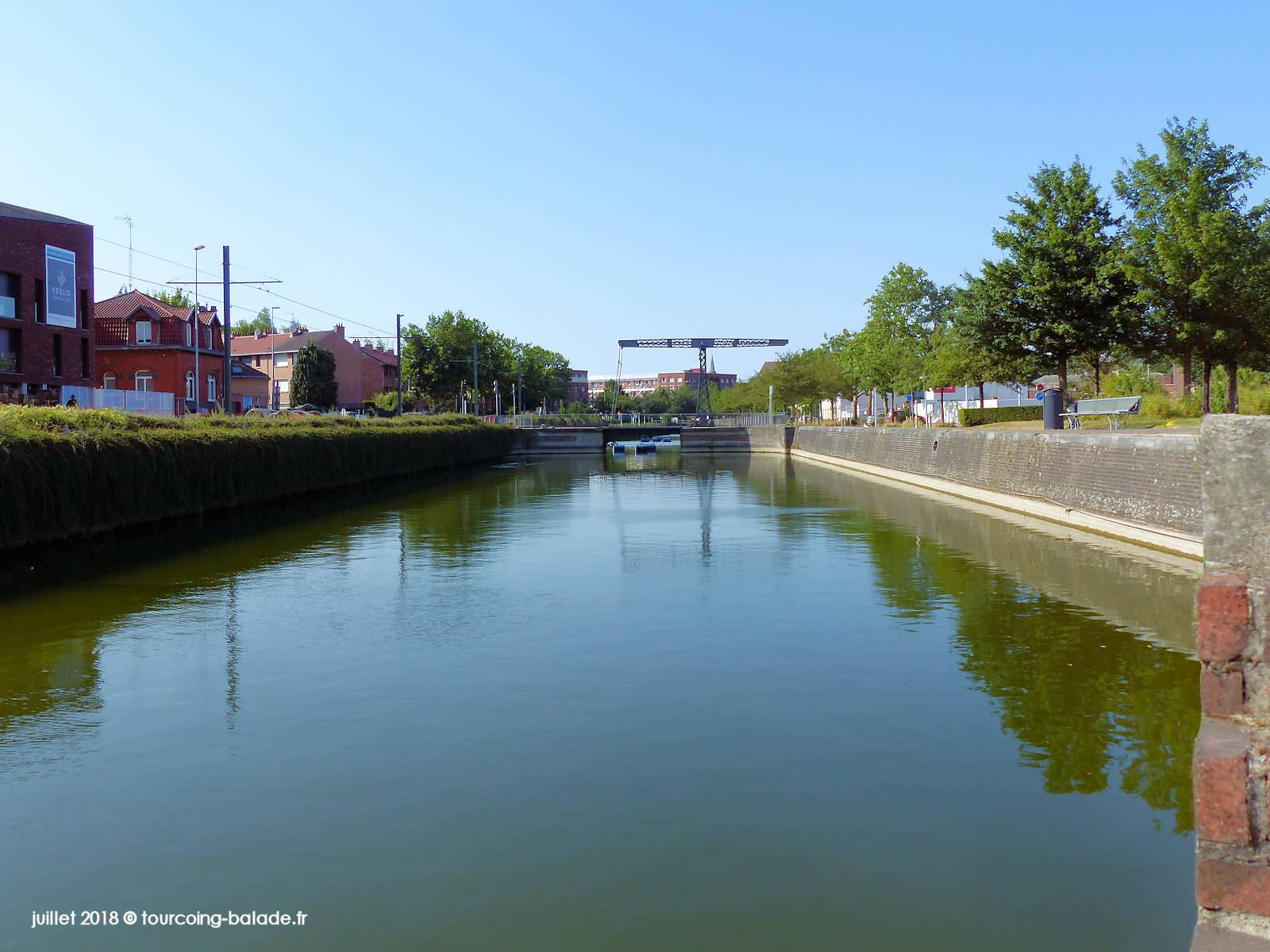 Canal de Tourcoing, Pont de l'Espierre, 2018