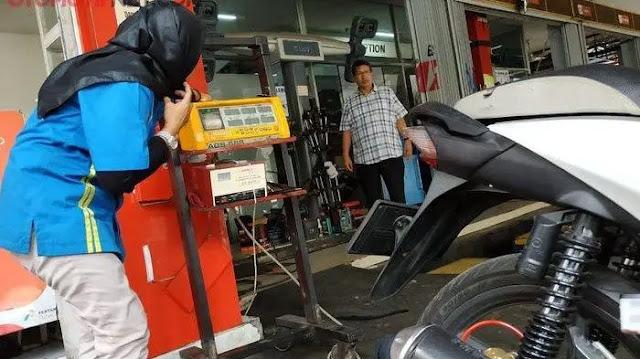 Proses Uji Emisi Kendaraan Bermotor