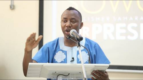 No Crime In Asking For Self-Determination — Sowore Condemns Igboho's Arrest