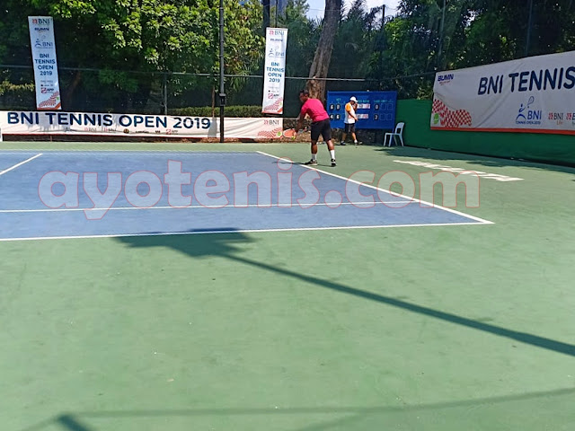 Tepat di Hari Ulang Tahunnya, Althaf Melaju ke Perempat Final Tennis Open di Jakarta