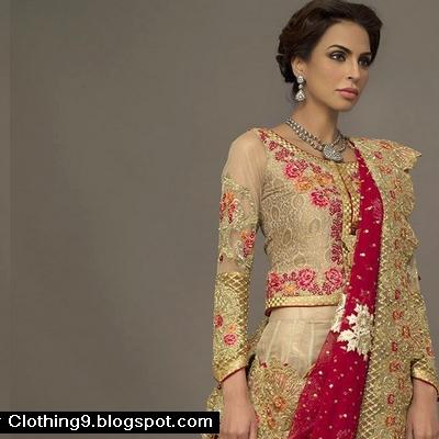 8f13530d63aa Deepak Perwani Bridal Wear Dresses Collection 2016-2017 ...