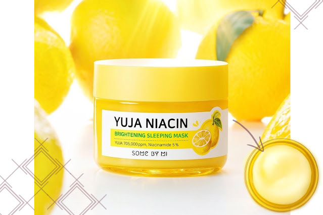Yuja Niacin Brightenight Sleeping Mask de Some by Me