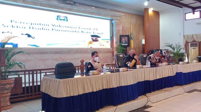 Pengarahan Walikota Tegal terkait percepatan vaksinasi di Kota Tegal
