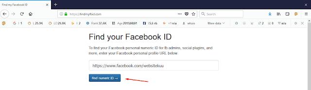 Cara Mendapatkan Admin ID Facebook