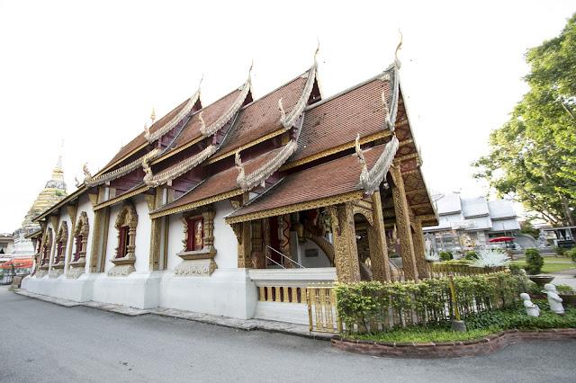 Tempio Wat Sri Suphan-Chiang Mai