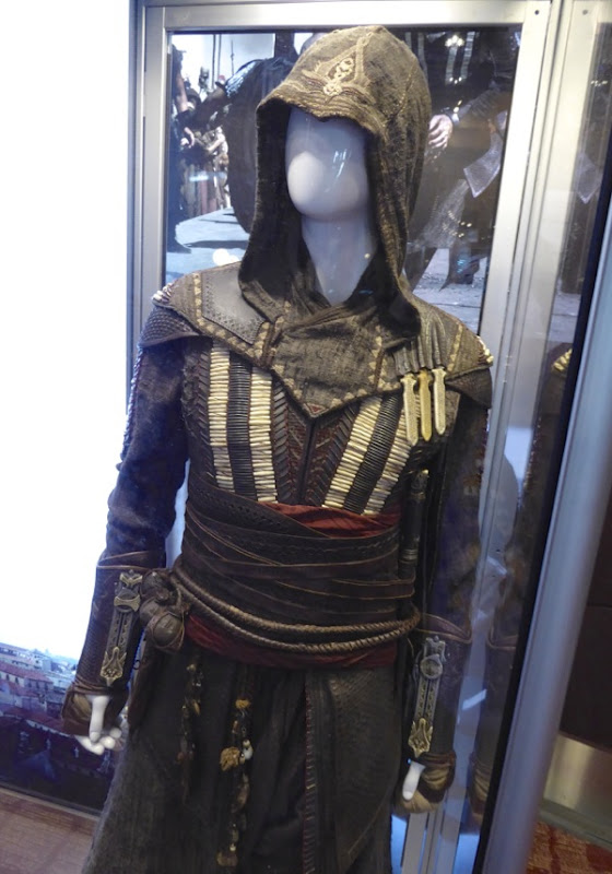 Michael Fassbender Assassins Creed movie costume