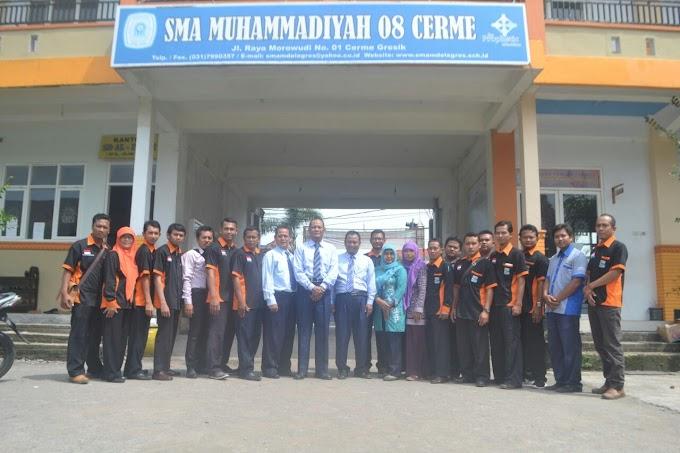 Kunjungi SMA Muhammadiyah 8 Cerme, Operator Sekolah Se-Gunung Kidul Belajar Pengembangan IT