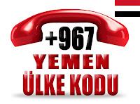 +967 Yemen ülke telefon kodu