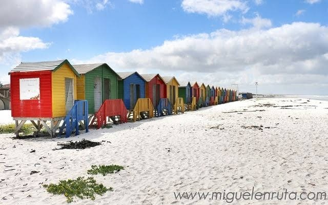 Casetas-de-colores-Muizenberg-Beach