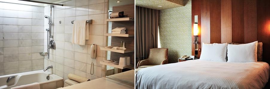 hotel room travel blog