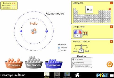 PHET:Simuladores de Física, Química y Matemáticas Gratis en HTML5, Java y Flash