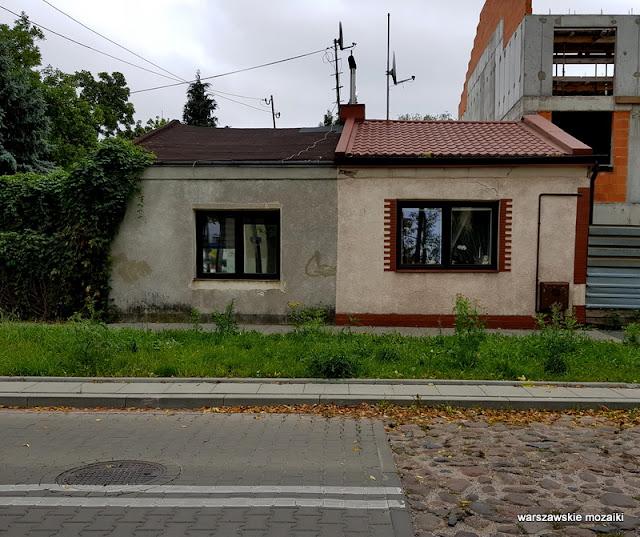 Warszawa Warsaw Targówek bruk ulica brukowana Adolfówka Adolf Gustwa Dirks dom