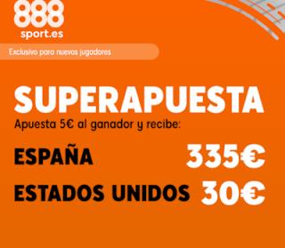 888sport superapuesta mundial España vs EEUU 24 junio 2019
