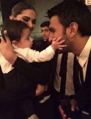 Cuteness Alert! Deepika and Ranveer have a Baby Moment - Bollywood ...