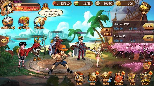 Liên Quân Hải Tặc: Game lấy đề tài One Piece cập bến Việt Nam 1