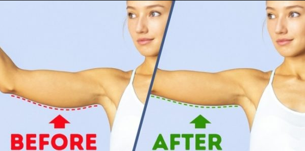 5 Exercises You Can Do At Home To Say Goodbye To Flabby Arms