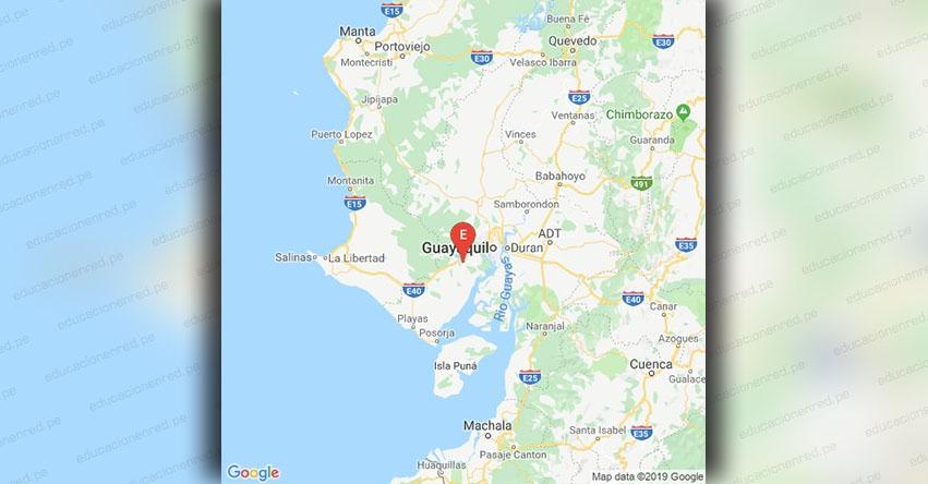 Temblor en Ecuador de Magnitud 3.3 (Hoy Lunes 4 Febrero 2019) Sismo Epicentro - Guayaquil - Guayas - IGEPN - www.igepn.edu.ec