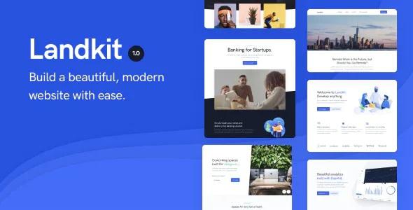 Landkit Multipurpose Business WordPress Theme