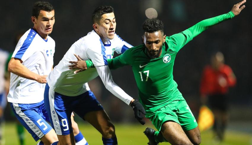 تقرير مباراة السعودية ضد  أوزباكستان تصفيات كأس اسيا