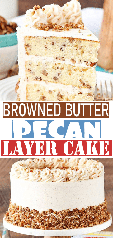 BROWNED BUTTER #PECAN LAYER# CAKE
