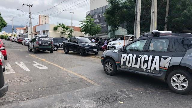 Operação da Polícia Civil cumpre 30 mandados de prisão em Sobral