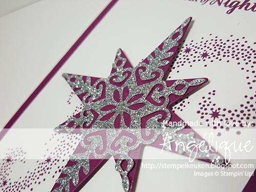 #Stempelkeuken #StarofLightBundel #StarofLight #RichRazzleberry #BigShot #SilverGlimmerPaper #Christmas#2016 #Christmas #handmade #diy #christmascard http://stempelkeuken.blogspot.com