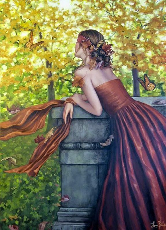 Canção de Outono - Lauri Blank e suas pinturas cheias de emoções